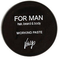 Vitality's For Man Working Paste Матирующая паста для волос, 75 мл