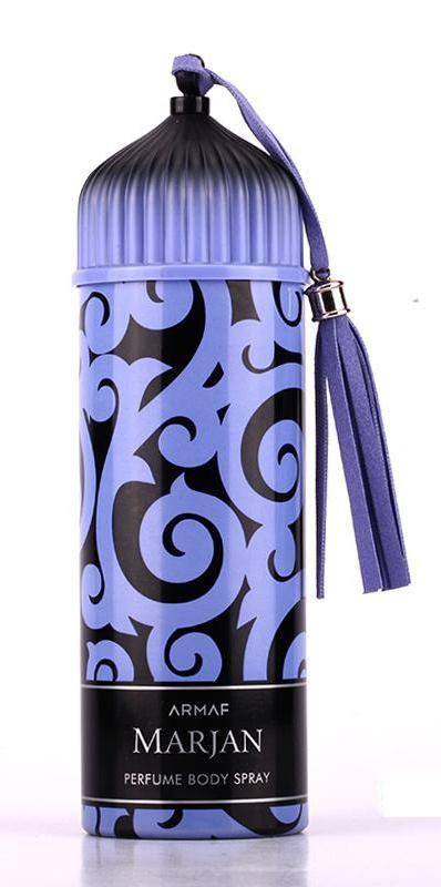 Женский парфюмированный дезодорант Armaf MARJAN BLUE 200 ml