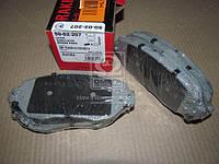 Комплект тормозных колодок, дисковый тормоз (пр-во ASHIKA) 50-02-207
