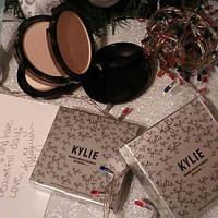 Пудра двойная Kylie (Кайли) Marine-Bright Formula, серебро