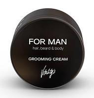 Vitality's For Man Grooming Cream Увлажняющий крем для волос, 75 мл
