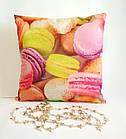 Подушка декоративна Макарунс, фото 3
