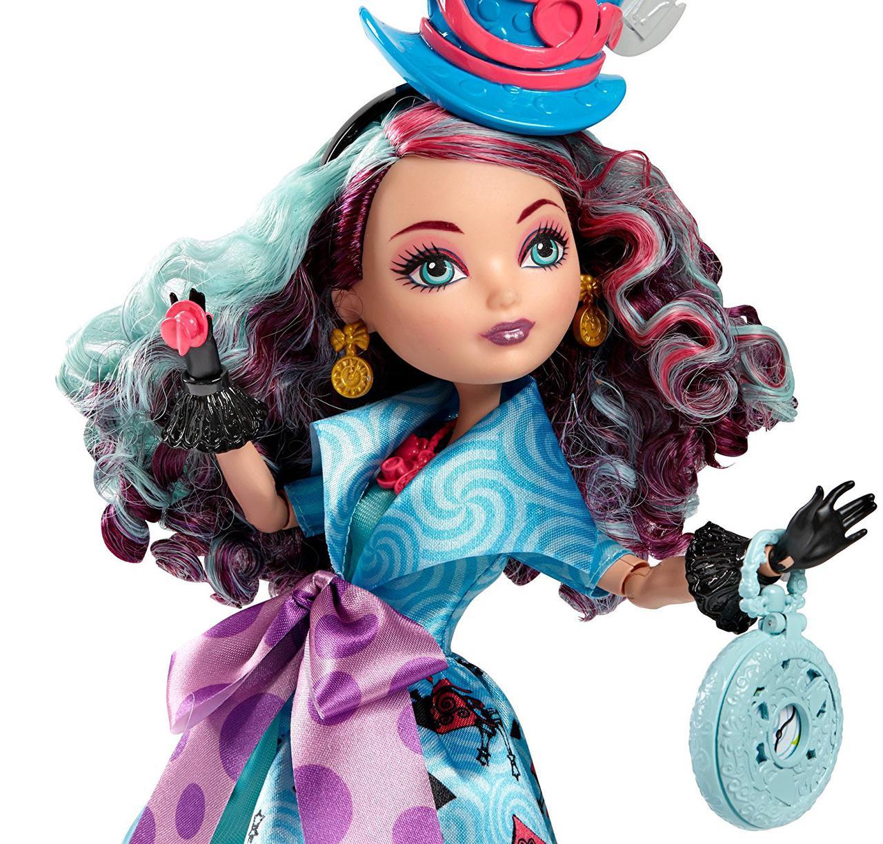 Мэдлин Хаттер Кукла Эвер Афтер Хай Путь в Страну Чудес Ever After High Way Too Wonderland Madeline Hatter Doll