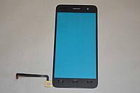 Оригинальный тачскрин / сенсор (сенсорное стекло) для Lenovo S858t (черный цвет, чип Goodix) + СКОТЧ В ПОДАРОК
