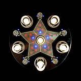 Потолочная люстра с разными режимами 85036-6, фото 3
