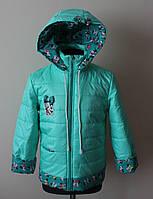 Детская куртка для девочки,весна-осень,демисезонная