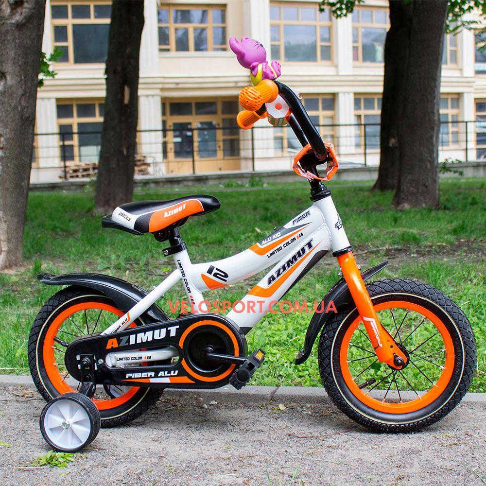 Детский велосипед Azimut Fiber 12 дюймов