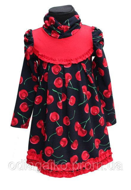 Детское платье Ляля Вишня р.104 2d23361e57b80