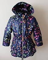 Куртка на девочку,детская,весна-осень