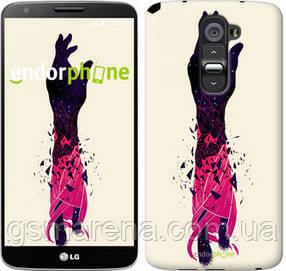 """Чехол на LG G2 Art Hand """"4195u-37-7794"""""""