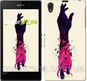 """Чехол на Sony Xperia Z1 C6902 Art Hand """"4195c-38-7794"""""""