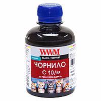 Пигментные чернила WWM для Canon PG-510Bk/PG-512Bk/PGI-520Bk 200г Black  (C10/BP)
