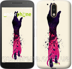 "Чехол на Motorola MOTO G4 Art Hand ""4195c-511-7794"""
