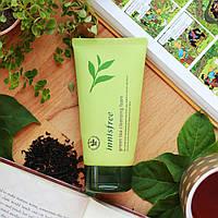 Пенка для умывания с экстрактом зеленого чая Innisfree Green Tea cleansing foam