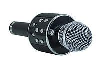 Беспроводной микрофон-караоке bluetooth WS-858 Золото