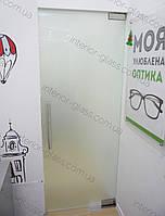 Стеклянные маятниковые двери и перегородки на заказ