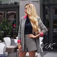 Костюм женский двойка пиджак шорты