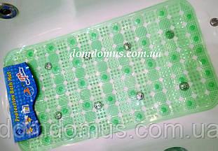 Антиковзаючий килимок для ванної, масажний прозорий 65*35 см, Китай 122