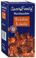 Сахар леденцовый коричневый Nordzucker Krusten Kandis Sweet Family 500г