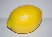 Искусственный лимон для декора