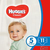 Подгузники Huggies Classic 5 (11-25 кг), 11х12 (5029053543161)