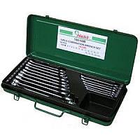 Набор ключей рожково-накидных 16 шт 6-24 мм метал. кейс HANS (16616MI)