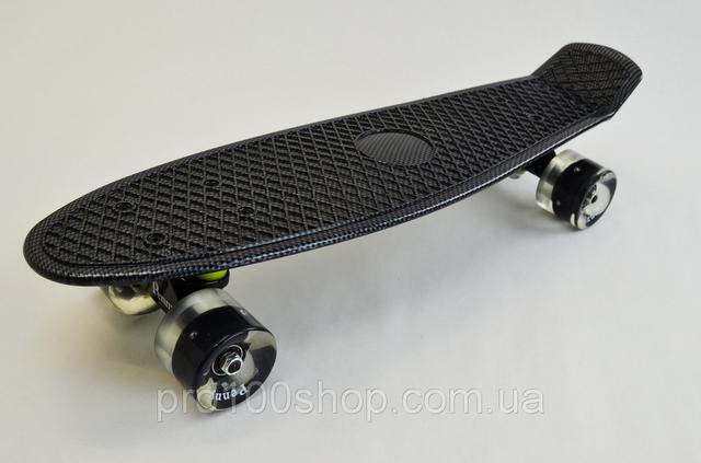 Penny Board Скейтборд ORIGINAL CABON LED