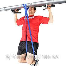 Лента сопротивления, резинка для подтягивания, эластичный жгут, эспандер, кросфит-петля (15-45 кг), фото 2