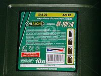 Масло моторн. OIL RIGHT М10Г2к SAE 30 CC (Канистра 10л) 2501