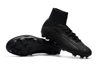 717d226dd6c2 Купить Футбольные бутсы Nike Mercurial Superfly V DF-FG Black ...