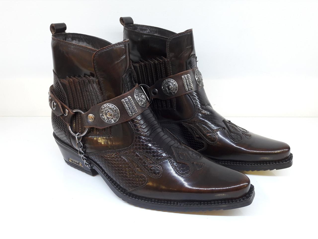 Казаки Etor 6654-8041-008-502  коричневий