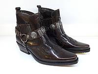 Казаки Etor 6654-8041-008-502  коричневий, фото 1