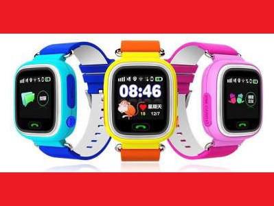 Smart Baby Watch Q90 Детские смарт часы с GPS трекером