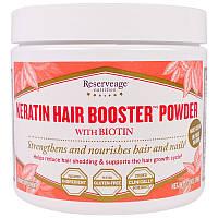 ReserveAge Nutrition, Кератиновый порошок с биотином для усиления волос, 78 г