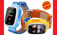 Smart Watch Q90 Детские смарт часы GSM, sim, Sos,Tracker Finder, фото 1