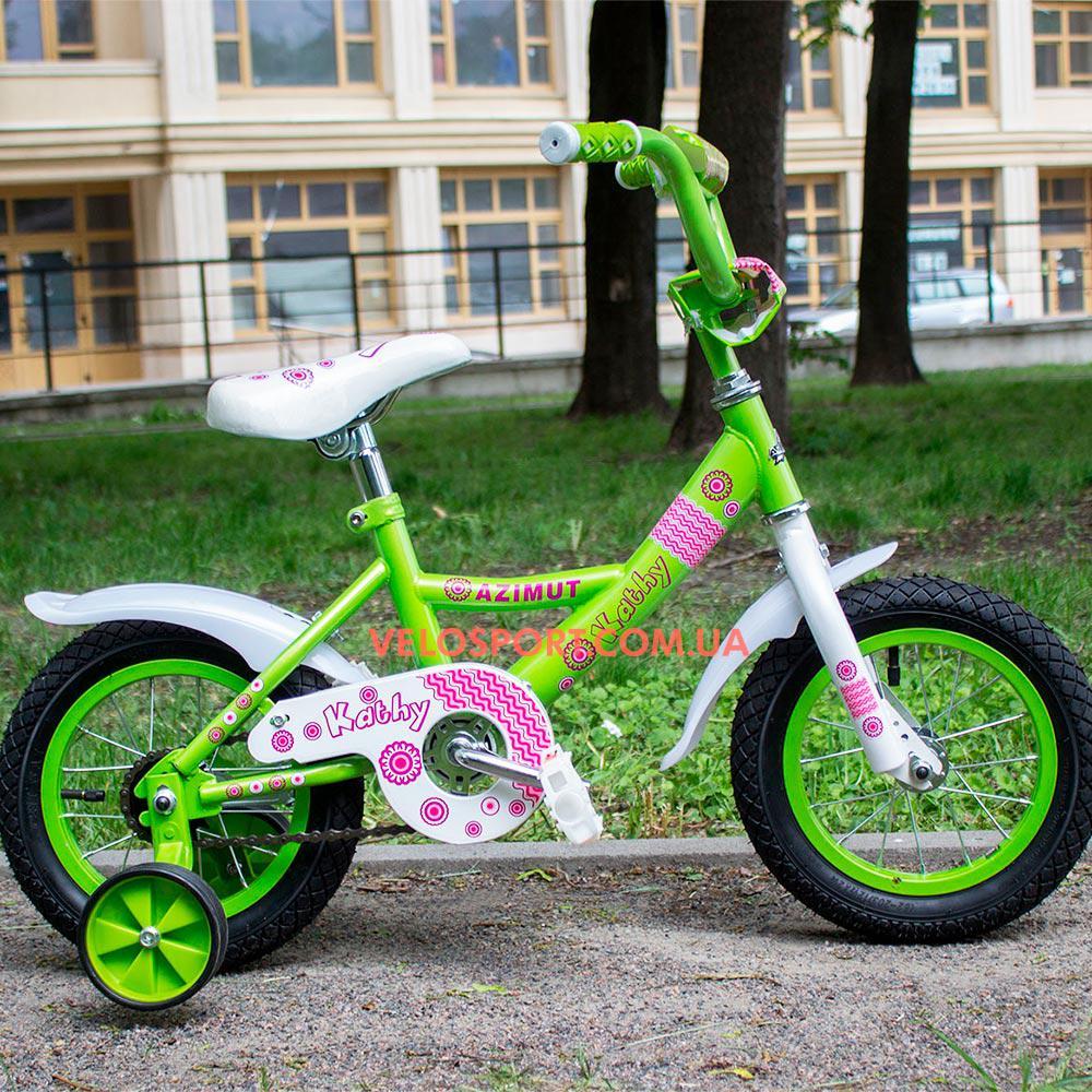 Детский велосипед Azimut Kathy 12 дюймов