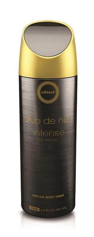 Женский парфюмированный дезодорант Armaf CLUB DE NUIT INTENSE 200 ml