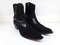 Казаки Etor 9913-1028 черные, фото 1