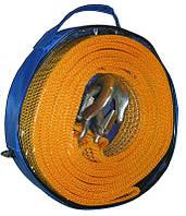 Трос 5Т х49мм х6м ТР-209-5-1 оранж/крюк/чехол