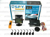 Парктроник SPY LP-003 8 датчиков/звук.сигнал LCD Black/black D=18.5mm