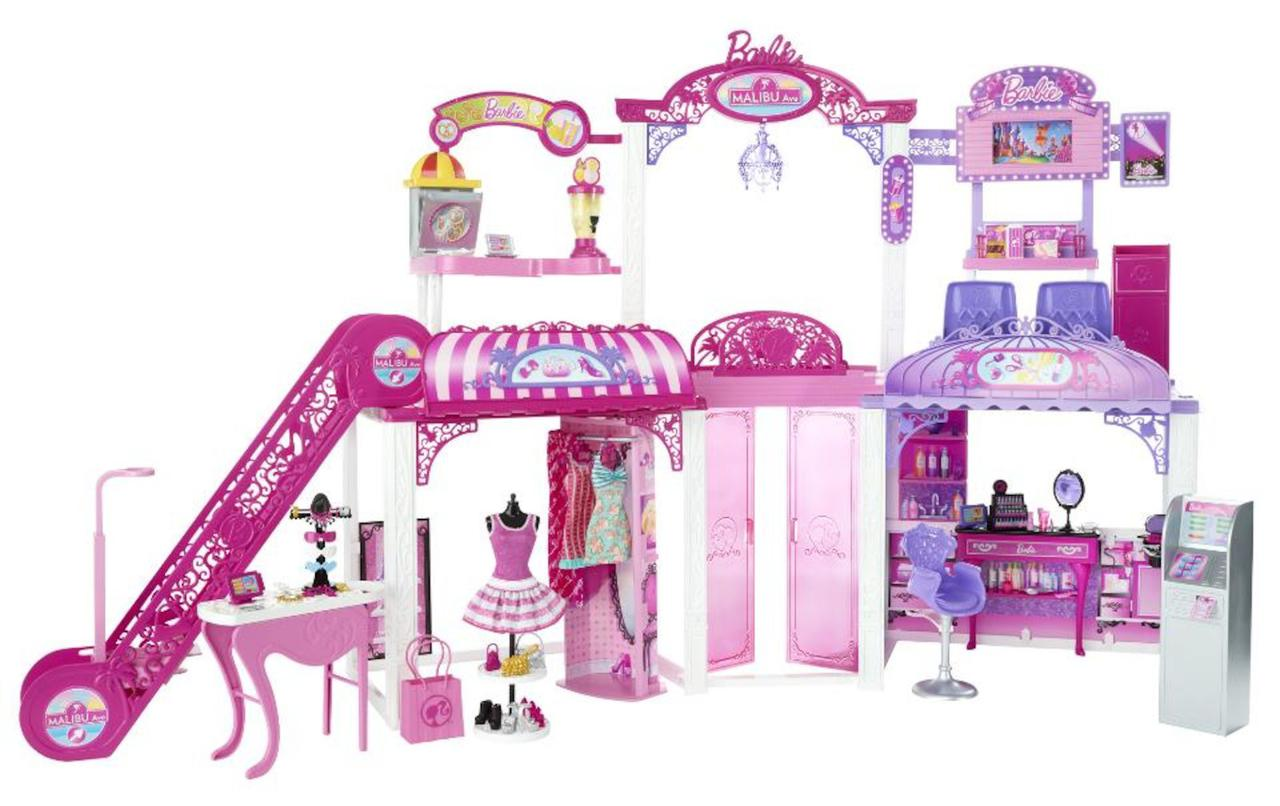 Barbie Барби торговый центр Малибу Malibu Shopping Mall Playset