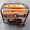 Бензиновый генератор 5.5 кВт 220 В, Буран БГ 7055С, электрогенератор, бензогенератор, миниэлектростанция, фото 2