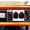 Бензиновый генератор 5.5 кВт 220 В, Буран БГ 7055С, электрогенератор, бензогенератор, миниэлектростанция, фото 6