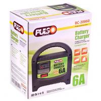 Зарядное устройство PULSO BC-20860, 12V, 6A, 20-80AHR, стрел.индик.