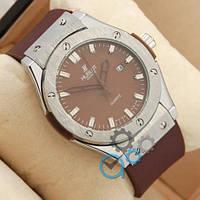 Часы мужские Hublot Big Bang AA quartz Brown/Silver/Brown