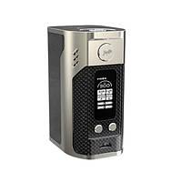 Бокс-мод Wismec RX300 300W-black карбоновый