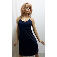 Ночная рубашка женская, ночная сорочка на бретельках из микромасла.  138