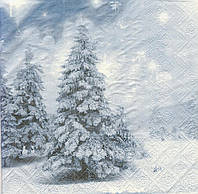Салфетки для декупажа Снежная зима 7152