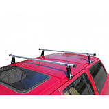 "Багажник ""UNI Люкс"" на водосток, поперечины 140см, фото 2"