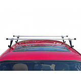 "Багажник ""UNI Люкс"" на водосток, поперечины 140см, фото 3"